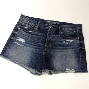 American Eagle high rise button fly shorts